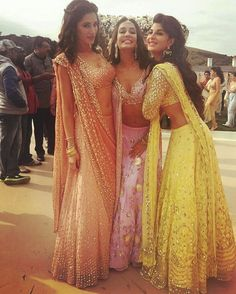 #Houseful3 Girls Rocking Traditional outfits !! . For more follow #BollywoodScope and visit http://bit.ly/1pb34Kz