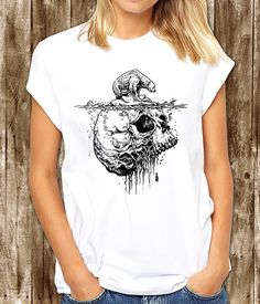 Polar bear t shirt - Climate Change t shirt - Sinking Polar bear. Tattoo Polar bear t shirt - Endangered species t shirt by somanygreatthings on Etsy