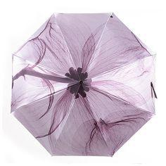 Inside Gold Coating Lightweight UV Protection Rain Windproof Umbrella #Affiliate