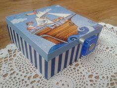 decoupage box for boy pirate - Szukaj w Google