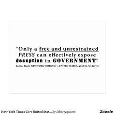New York Times Co v United States 403 us 713 1971 Postcard