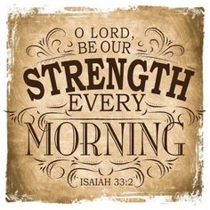 O Lord, be our strength wooden decor block