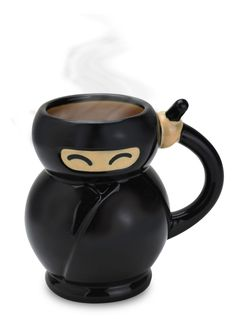 Ninja Mug - of course I need this.  @Aubree Seegmiller