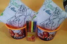 KIT ALMOFADA PARA PINTAR + BALDE DE PIPOCA    O KIT é: 1 Almofada para pintar 20 x 20cm personalizada, jogo de canetinhas com 6 cores personalizado, balde de pipoca personalizado, saquinho plástico, fitinha para laço e tag de agradecimento no tema da festa.    Aniversário, Nascimento, Batizado, C...