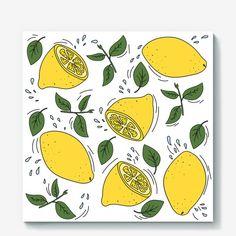 Холст «Страна лимония»