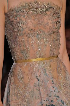 Elie Saab at Couture Fall 2012 - StyleBistro
