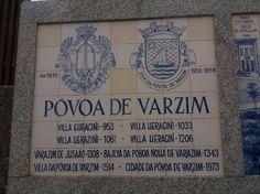 Póvoa de Varzim Origem do nome.