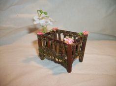 Fairy Garden Crib by fairydazzle on Etsy