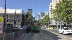 English - Welcome to the 2018 Yarra Trams Melbourne Route 86 from Docklands Waterfront City to Bundoora. This route is timed for around one hour and twenty m. Melbourne Victoria, Victoria Australia, Melbourne Tram, Places To See, Street View, City, Beautiful, City Drawing, Cities