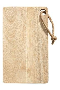 Planche à découper en bois H&M