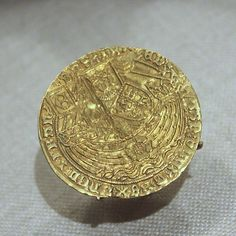 Coin with Rose Noble and Edward IV 1461-83