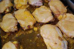 Carnicería y comidas caseras Antonio - Pechugas de pollo rellenas. Pechugas de pollo rellenas con jamón y queso horneadas.