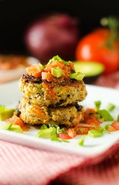 Wendy Polisi shares Southwestern Quinoa Patties #udisglutenfree