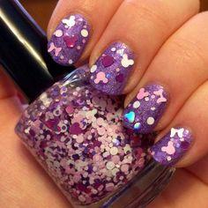 fddeb4ba20d Perfect as a Princess for Spring Disney Inspired Nail Polish   nailpolishideas Purple Nail Polish