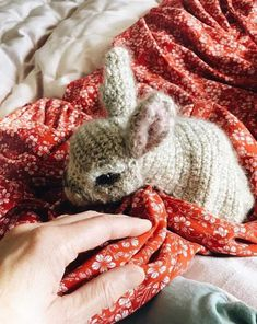 How to knit a bunny rabbit. Click through for easy step by step tutorial and free knitting patter to make a knitted easter bunny rabbit. Click through to get tips and all the info you need to make your own Knitted Bunnies, Crochet Bunny, Crochet Animals, Crochet Toys, Knitting Patterns Free, Free Knitting, Baby Knitting, Free Pattern, Knitting Toys