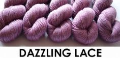 Dazzling 2 Ply Lace Yarn