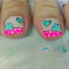 Mani Pedi, Nail Designs, Nail Art, Nails, Beauty, Toenails Painted, Simple Toe Nails, Pretty Toe Nails, Trendy Nail Art