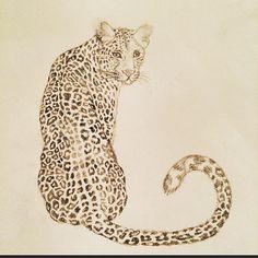 Leopard Illustration By Léanne Ruijs