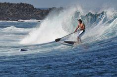 Surfing Galapagos islands