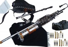 Uilleann Pipes: The National Bagpipe of Ireland http://www.celticmusicinstruments.com/uilleann-pipes-page/