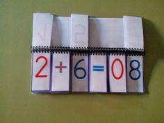 Hola de nuevo,esta vez os dejo dos libros para trabajar el cálculo mental.   El primero de operaciones básicas sencillas ( suma, resta, m...