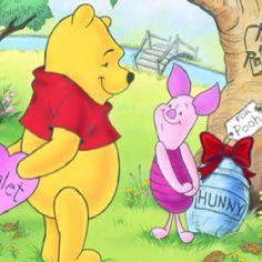 Ferkel, Morgen, Winnie Puh, Beste Freunde, Wahre Freunde, Valentinstag,  Valentinstags Ideen, Pu Der Bär, Freunde