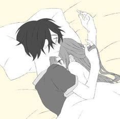 Image Couple, Cute Couple Art, Anime Love Couple, Anime Couples Cuddling, Romantic Anime Couples, Anime Couples Sleeping, Anime Couples Hugging, Kirito Asuna, Kirito Kirigaya
