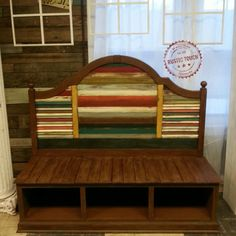 love the different colors on this bench......1026191_10203295954229227_1917970341_o