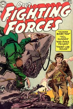 OUR FIGHTING FORCE 1, GOLDEN AGE DC COMICS