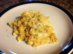Organizastic: Cheesy Quinoa and Caulliflower