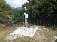 Acronet rain gauge station located in Faia (hamlet of the Municipality of Quiliano).
