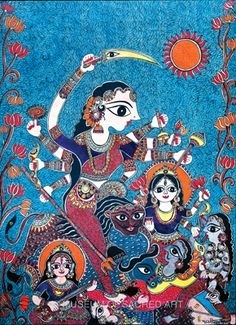 Goddess Durga by Bharti Dayal