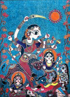 Goddess Durga by Bharti Dayal