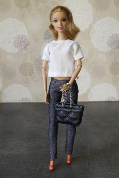 szycienocne: BARBIE: stylizacja na Calvina Kleina