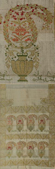 Indian Textiles - TextileAsArt.com, Fine Antique Textiles and Antique Textile Information Motif Paisley, Paisley Pattern, Indian Fabric, Indian Textiles, Little Stitch, Indian Patterns, Textile Fabrics, Textile Design, Pattern Fashion