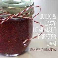 cook: homemade freezer jam madeeasy! - It's Always Autumn
