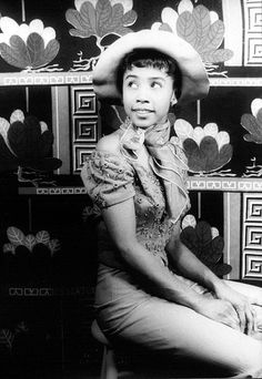 Young Diahann Carroll, 1954  | Black Hollywood Series by Black History Album, via Flickr