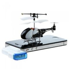 Awesome. Control with your Smartphone. docooler 3.5 Channel RC Mini Helicopter iHelicopter Gyro for iPhone/iPad/iPod Remote Control for sale on Amazon