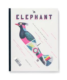 Another week, another look at some award winning work... Elephant Magazine issue 5 designed by Matt Willey at Studio8. Lovely.