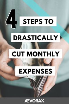 Cutting your monthly expenses is easier than you think! I'll show you how to cut your expenses in just a few minutes with amazing tips! #aevorax #cutexpenses #monthlyexpenses #expenses #personalfinance #debts #subscriptions #moneyissues #money #cash #budget Save Money On Groceries, Ways To Save Money, Money Tips, Money Saving Tips, Paying Back Student Loans, Monthly Expenses, Money Saving Challenge, Self Improvement Tips, Budgeting Money
