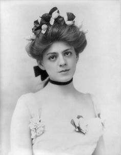 "ETHEL BARRYMORE (1879-1959)  was an American actress & a member of the Barrymore family of actors. Regarded as the ""First Lady of the American Theater"", Barrymore was a stage & film actress & her career spanned 6 decades. Her 1st film ""The Nightingale"" (1914). She made 15 silent films; In the 1940s, she moved to Hollywood. One film was with her brothers, ""Rasputin & the Empress."" Won an Academy Award for Best Supporting Actress in 1944's ""None But the Lonely Heart."""