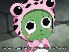 frosch fairy tail gif