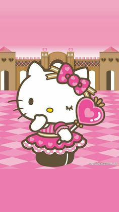 Hello Kitty Walpaper Hello Kitty, Hello Kitty Art, Hello Kitty My Melody, Hello Kitty Birthday, Hello Kitty Wallpaper, Sanrio Hello Kitty, Hello Kitty Pictures, Kitty Images, Baby Friends