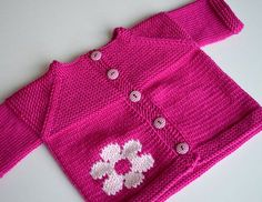Ravelry: Project Gallery for garter yoke baby cardi pattern by Jennifer Hoel