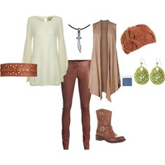 Marian Hawke, my Dragon Age 2 rogue, created by rissalena on Polyvore