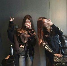 Korean friend goals icons tumblr/ulzzang @안느