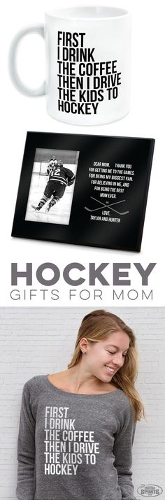So many fun and thoughtful gifts for your Hockey Mom for Mother's Day! Hockey Coach, Hockey Puck, Hockey Mom, Shilouette Cameo, Hockey Party, Hockey Gifts, Engraved Gifts, Coach Gifts, Party Gifts