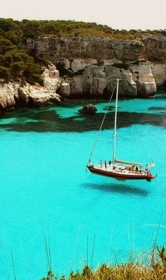 Turquoise Sea - Sardinia, Italy - Explore the World with Travel Nerd Nici, one Country at a Time. http://TravelNerdNici.com