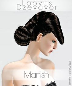 Second Life Marketplace - [[Loovus Dzevavor]] ~ Hair: Manish FATPACK