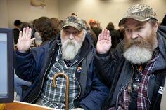 Dois homens se casam em Washington ap